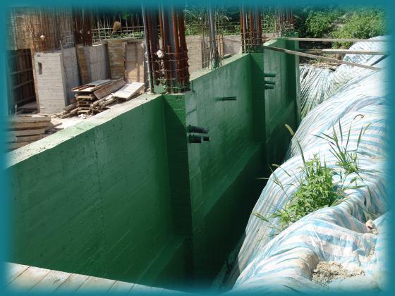 地下室外墙防水工程
